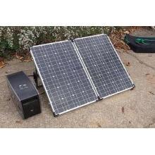 Kit de panel solar portátil de 200 vatios
