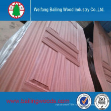 Natural Sapeli Veneered HDF Mould Door Skin
