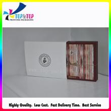 Hermoso diseño personalizado de impresión al por mayor caja plegable de la caja del libro