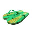 Grüne Farbe PVC Sommer Strand Hausschuhe Günstigen Preis