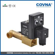 Válvula de solenoide control de tiempo, válvula de solenoide calentador de agua, irrigación de jardín solenoide válvulas