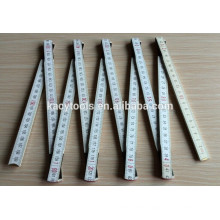 2M/80'' 10 Folds Wooden Folding Ruler Level