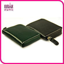 Credit Card Sorter Wallet Coin Purse Change Holder Leather Zip Mens Womens