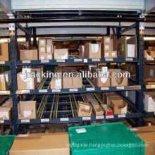 Industrial rolling shelves,Basketball storage racks gear carton flow rack