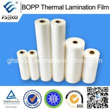 Película térmica BOPP con pegamento EVA para impresión offset