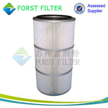 FORST Hot Sell Pleated Air Compressor Filter Cartridge Manufacture