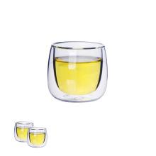 Mini Doppelwand Glas Teetasse