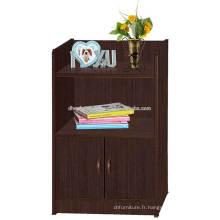 Cabinet latéral, Cabinet de petit cabinet, Support de nuit, Bac à outils en bois