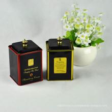Популярный квадратный металлический чай Tin Can / Tin / Coffee Tin Box
