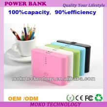 Banco móvil portátil del poder 20000mah del poder del USB de la alta capacidad dual para el iPhone 4 / Samsung / Nokia / Ipad