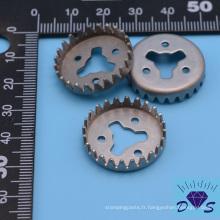 Pièce d'estampage en métal électrique de conception personnalisée de haute précision
