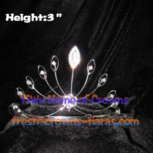 Cheap Copper Wire Pageant Crowns Tiaras