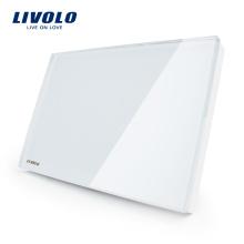 Стандартный выключатель Livolo US All Чистая розетка Украсьте розетку переключателя VL-C300-81 / 82