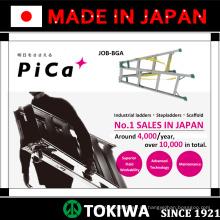 PiCa Multifunktions- / Mehrzweckleiter & Stehleiter mit hervorragender Haltbarkeit. Made in Japan (Autowaschleiter)