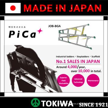 PiCa Multi-função / Multi-uso Escadas e Stepladders com excelente durabilidade. Feito no Japão (escada telescópica)