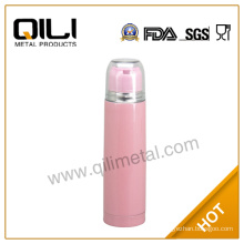 Eco-friendly bullet flask with clear lid