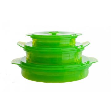 Mircowareable Silicone Collapsible Containers Bento-Boxen