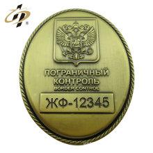 Insigne militaire en laiton en métal bon marché de 3cm avec la goupille de sûreté