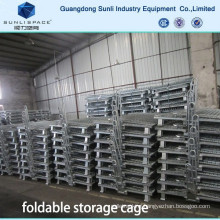 Warehouse Folding Wire Mesh Cage