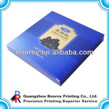 Impressão de empacotamento cosmética da caixa cosmética personalizada da cor completa