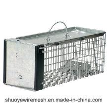 Zusammenklappbare Tierfalle und Käfig