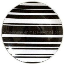 8-Zoll-Melamin-Teller mit Logo