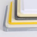 Plastic Sheet PVC Rigid Gray white PVC Sheet