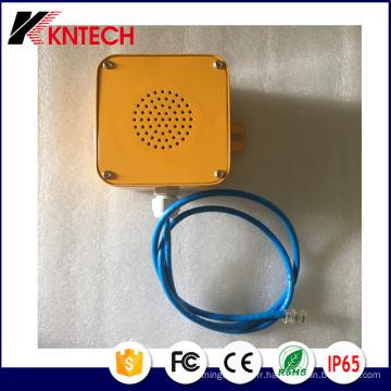 SIP Poe Haut-parleur avec connecteur RJ45 A4 Kntech