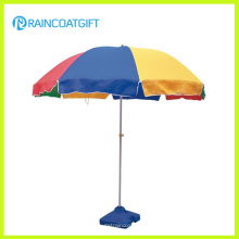210D Oxford Publicité extérieure Parasol de plage