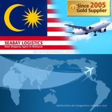 Günstige Luftfracht Von China nach Malaysia / Kuala Lumpur