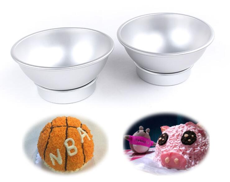 3D Aluminum Alloy Ball Sphere Cake Baking Mold