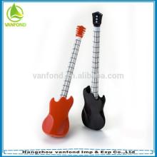 2015 popular novelty guitar shape gift ball pen
