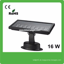 3 Jahre Garantie CE & ROHS AC85v-265v wasserdicht IP66 16W Outdoor Flutlicht geführt