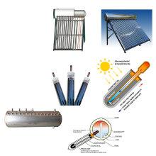 Chauffe-eau solaire à pression intégrée de haute qualité 2015 avec tuyau de chaleur en cuivre