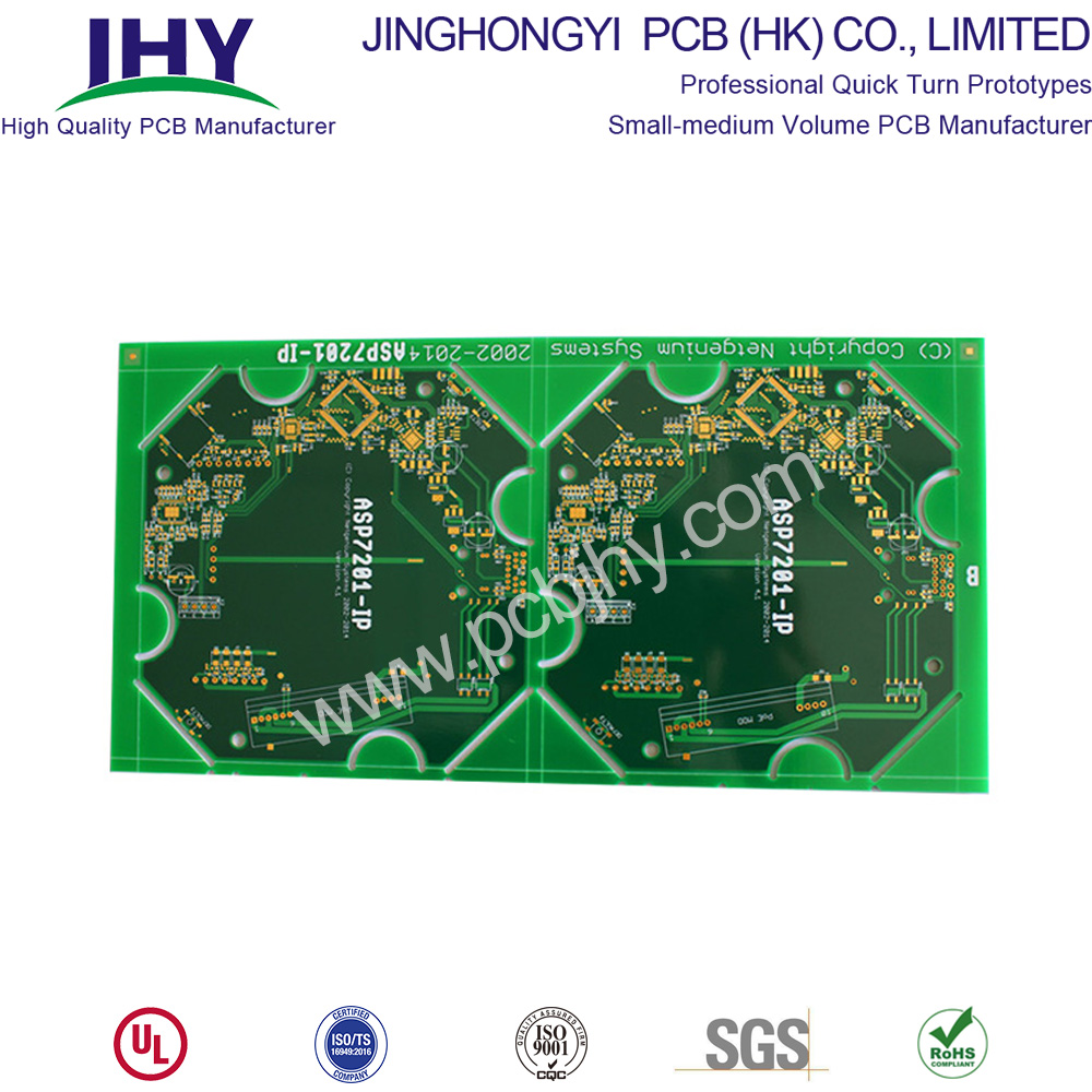 Immersion Gold 1.6mm 1oz 4 Layer Rigid PCB