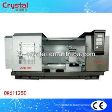 tour aiguisé CJK61125E * 1500/2000/3000 cnc tours prix de la machine-outil