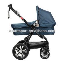 Cochecito de bebé con asiento de coche