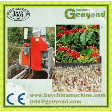 Tipo da eletricidade máquina verde da descascamento do feijão de café