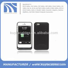 2200mAh externe Batterie Backup Power Case für iPhone 5c schwarz