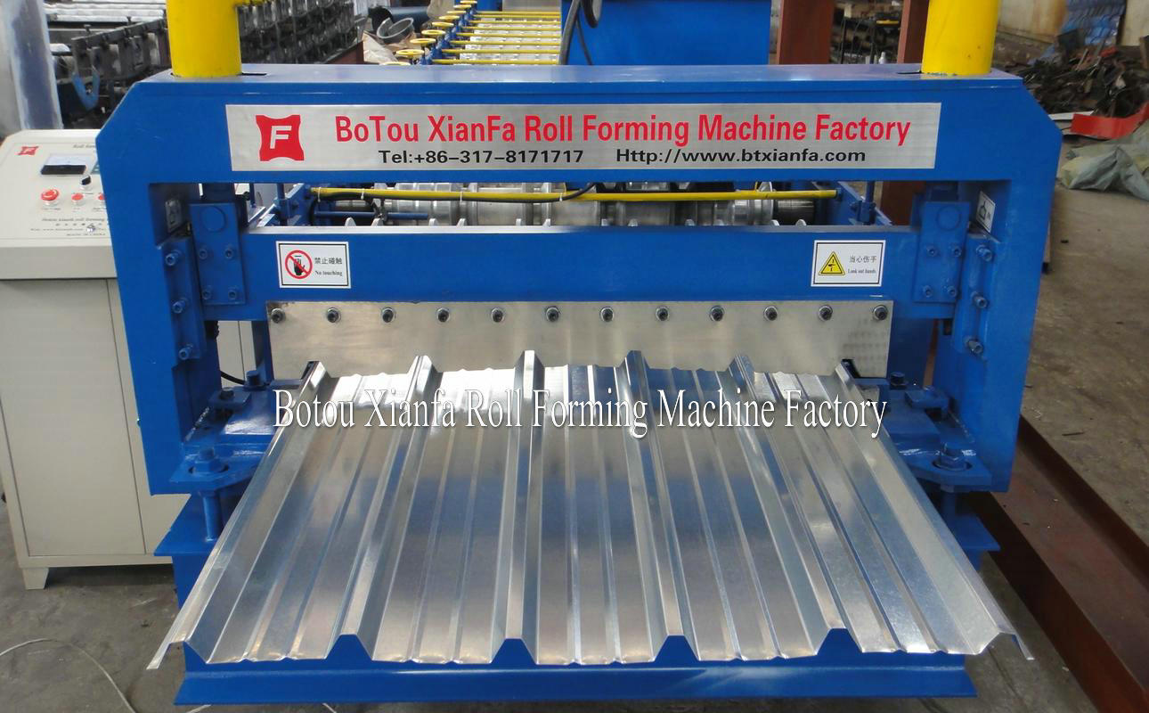 rooing tile forming machine