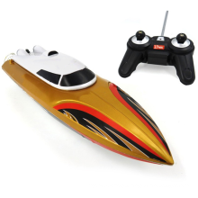 Remote Control Boats for Pools and Lakes, RC Boat 2.4GHz 15km/h Mini Remote Boat Toys for Kids and Adults