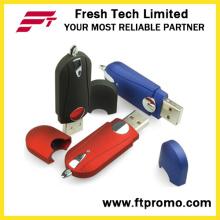 Classical Customized Plastic USB Flash Drive for Convenient (D113)