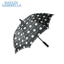 PG Cloth Gift Outdoor Advertising Promotional Full Panels Screen Printing Custom Weatherproof Print OEM Golf Umbrella With Logo