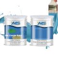 CHANGZHOU YMS two components 100% solid Metallic epoxy resin and hardener