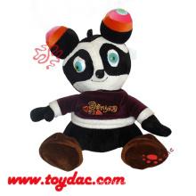 Plush Advertisement Panda Toy