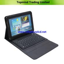 Funda con teclado Bluetooth para Samsung Galaxy Tab 2 10.1 P5100 P5110