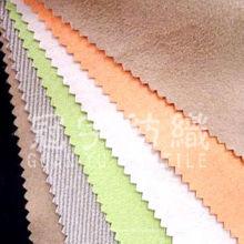 Tecido de camurça de poliéster com costas T / C para capa de sofá