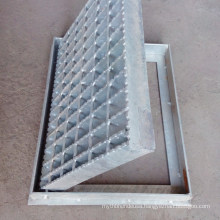Floor Grate Drainage Drain Cover Stainless Steel Bar Grating Channel Trench Drain with Frame
