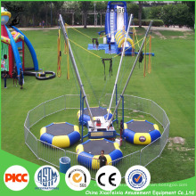 Sviya Wholesale Children Jumping Round Trampoline Bungee for Four People