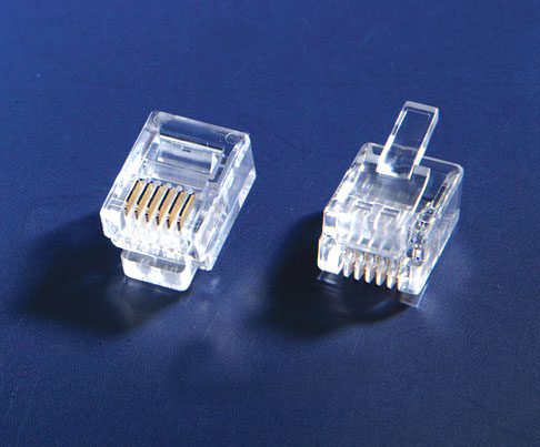 RJ12 P66 Flat Connector